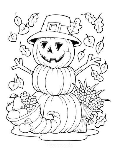 81 Best Autumn & Fall Coloring Pages - Free PDF Printables ...