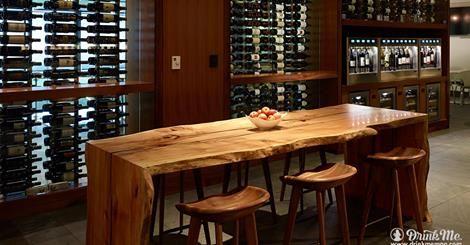 American Express Centurion Lounge SFO WineEmotion Wine Dispenser
