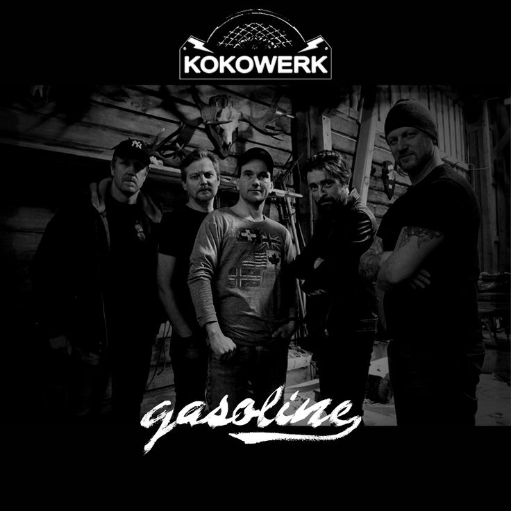 Gasoline is added to multiple playlists already on Spotify, and we are SO thankful. If you haven't yet, please remember to play / follow Kokowerk on Spotify to help us stand out from the masses🤘