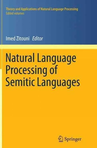 Language Processing of Semitic Languages