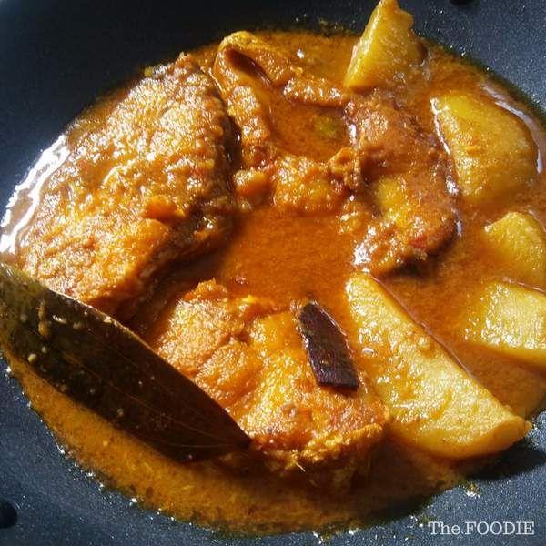 Bhetki Fish Kalia with Potato