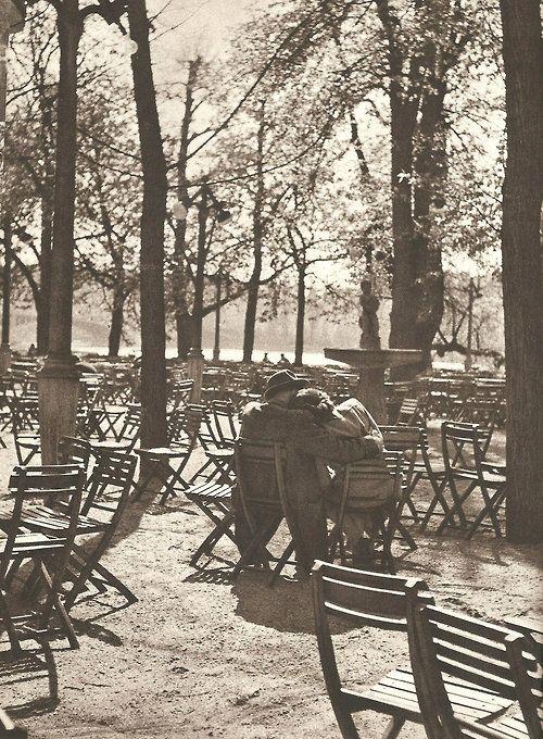 Prague autumn lovers by E.Einhorn, late 50's
