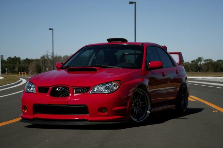 Dream Red WRX