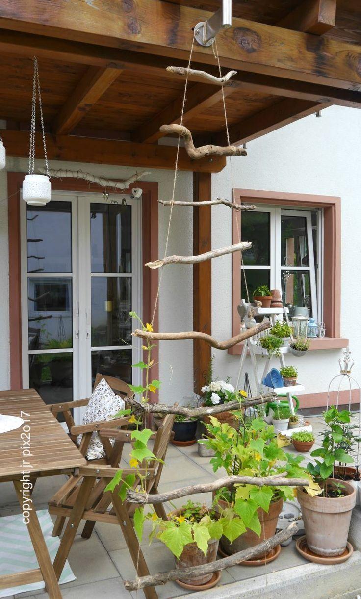 The Weekender – kleine Projekte fürs Wochenende: DIY Rankgitter aus Holz