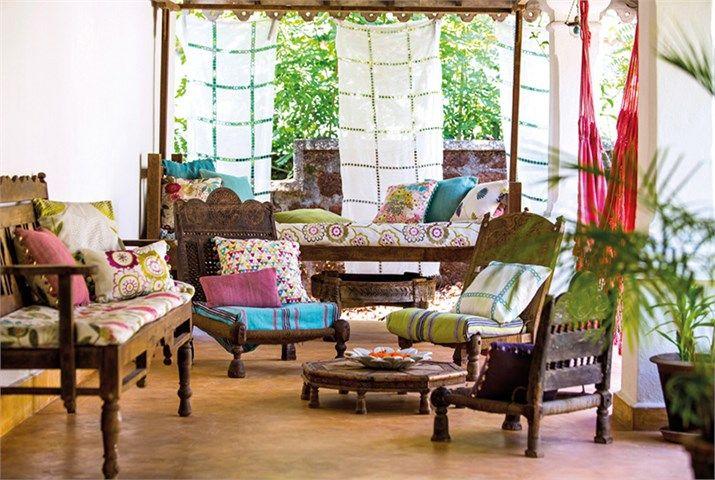 Harlequin Jardin Boheme Fabrics 5