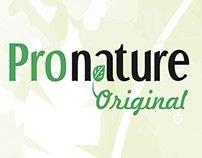 "Промо вэб-страница конкурса от TM ""Pronature"""