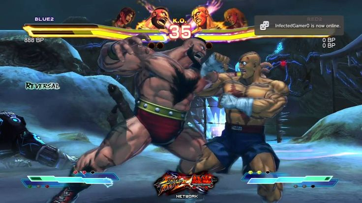 street fighter 5 | Street Fighter X Tekken: Zangief & Julia vs Sagat & Ken Match #1 ...