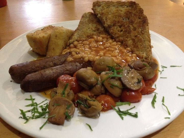 Eighth Day Café (Eighth Day Co-op) in Manchester. Recommended by India Tayler.