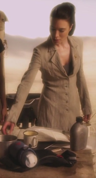 "Helena G. Wells (Jamie Murray) of TV's Warehouse 13. The ambiguous anti-hero and the brilliant inventor are fairly exclusive ""guy"" territory. This little gender-bender piece of writing recast H.G. Wells and made a truly memorable character."