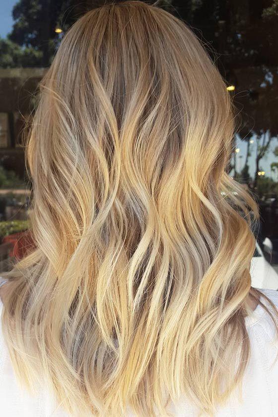 Светлый медовый блонд