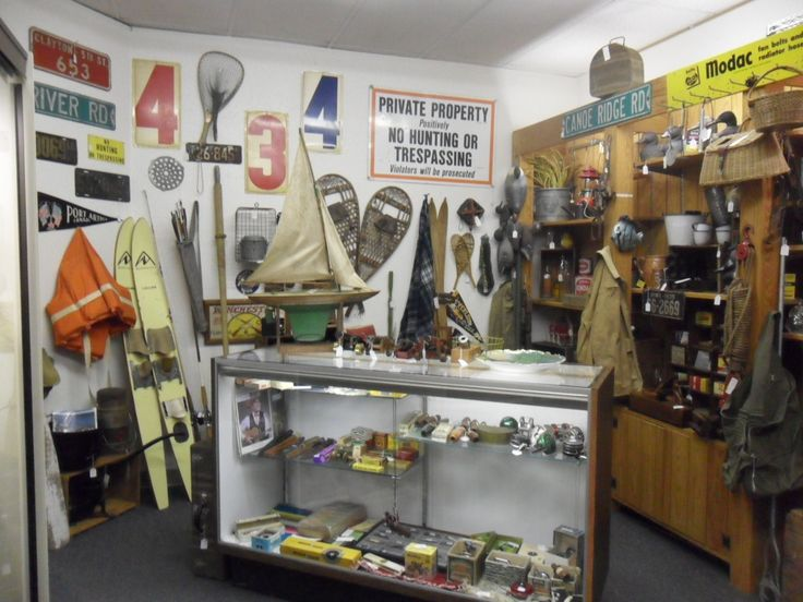 Cool cabin décor available at Old River Valley Antique Mall in Rochester MN
