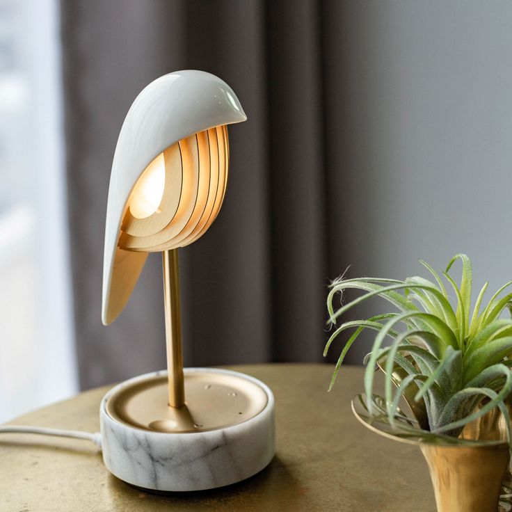 Chirp Alarm Clock and Lamp in color App Store Iphone, Alarm Sound, Moma, Light Table, Home Lighting, Desk Lamp, Table Lamps, Decoration, Marble