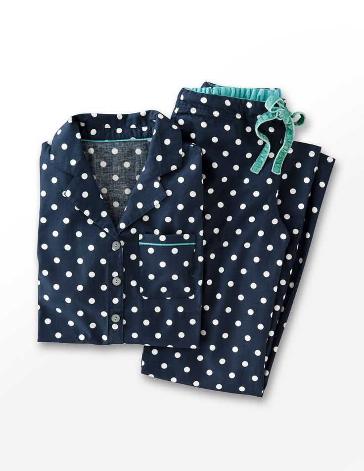 Polka Dot Pajamas from Boden!