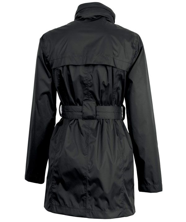 Buy the Charles River Apparel 5375 Women's Nor'easter Rain Jacket from SweatshirtStation.com, on sale now for $52.43 Black Rear