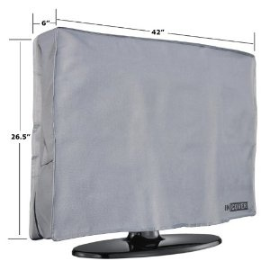 InCover 42″ Outdoor TV Cover – Water and Dust Resistant – Fits over most TV Mounts and Stands – Built-in pocket for TV Remote by InCover  http://www.60inchledtv.info/tvs-audio-video/television-accessories/tv-screen-protectors/incover-42-outdoor-tv-cover-water-and-dust-resistant-fits-over-most-tv-mounts-and-stands-builtin-pocket-for-tv-remote-com/