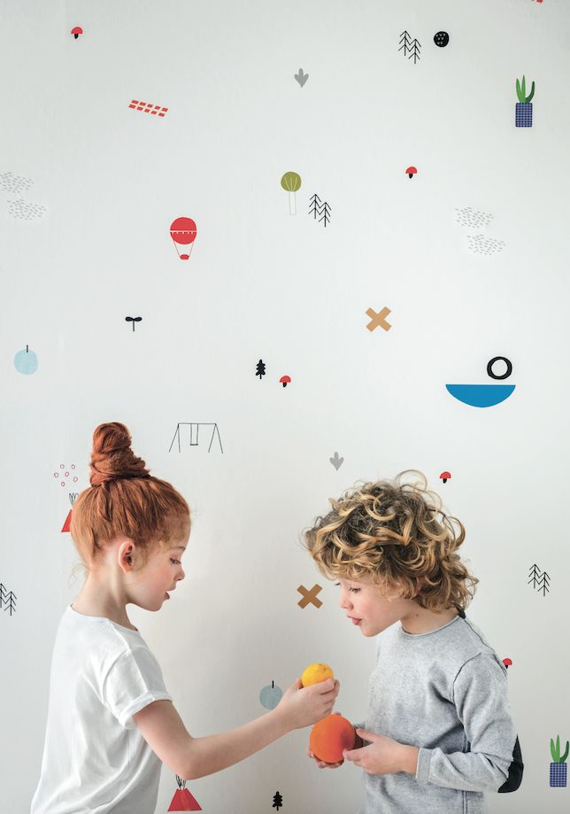 that wallpaper! / Kidsroom, by Nidi.