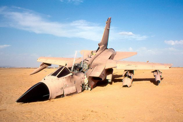 The End of Gulf War Veteran Tornado ZA466. It's like reading about the death of a warrior.