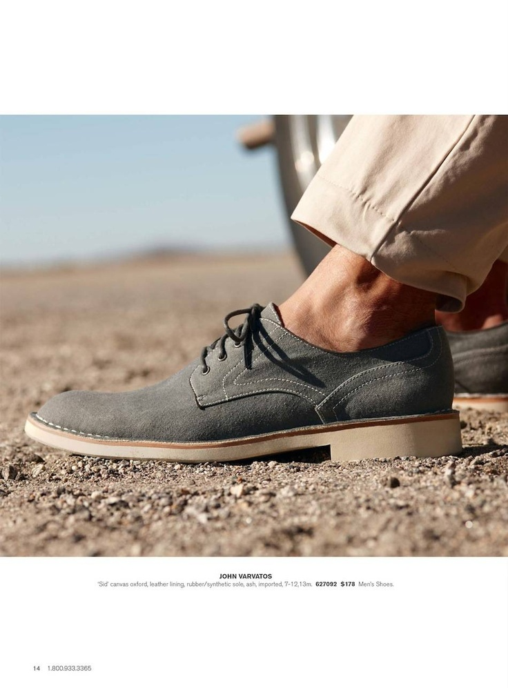 Nordstrom Spring 2013 Men's Shop Catalog//been looking into getting a pair for myself... Hopefully soon!