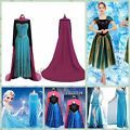 Women Adult Dresses Elsa Frozen Tulle...