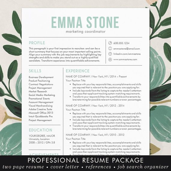 25+ beautiful Free cover letter ideas on Pinterest Free cover - resume templates word mac