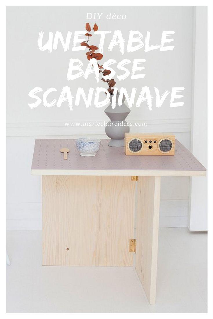 Les 25 meilleures id es de la cat gorie table basse style for Fabriquer sa table basse scandinave