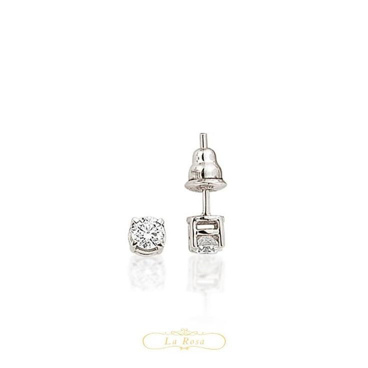 Cerceii LRY258 se potrivesc oricarei femei, indiferent de varsta si stil. Clasici, din aur 18K si diamante de 0.30 carate, pretul unei perechi de cercei LRY258 este 3744 lei.   http://www.bijuteriilarosa.ro/bijuterii-cu-diamant/cercei/cercei-lry258