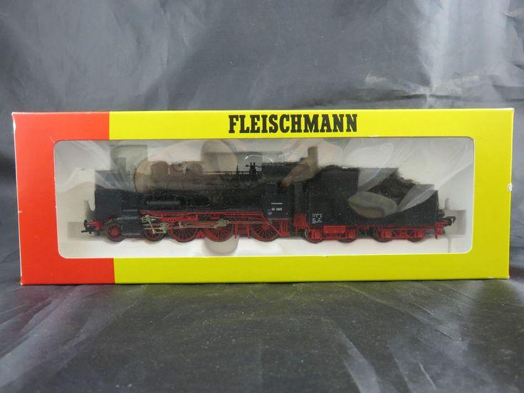 Fleischmann Spur H0 4162/93 Dampflok BR 38 3865 DB schwarz/rot SoMo in OVP 2007