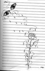rachels drawing.... 13 tears.... 13 lost