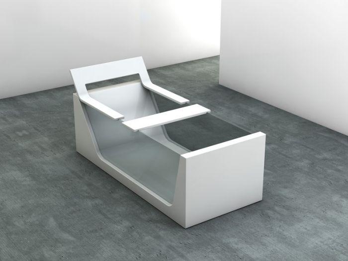 Bring forward the element of design and luxury with this beautiful glass bathtub #GlassBathtub #PierDeco #LuxuryLife #Wellness #Classic #Designer #InteriorDesign