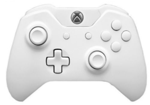 Master Modded Controller Xbox One White Out