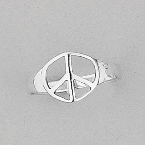 Sterling Silver Peace Ring - All That I Need