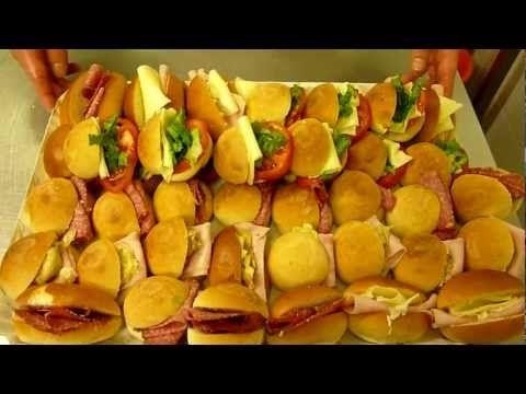 Come fare i Tramezzini - Mignon da rinfresco - Video - YouTube
