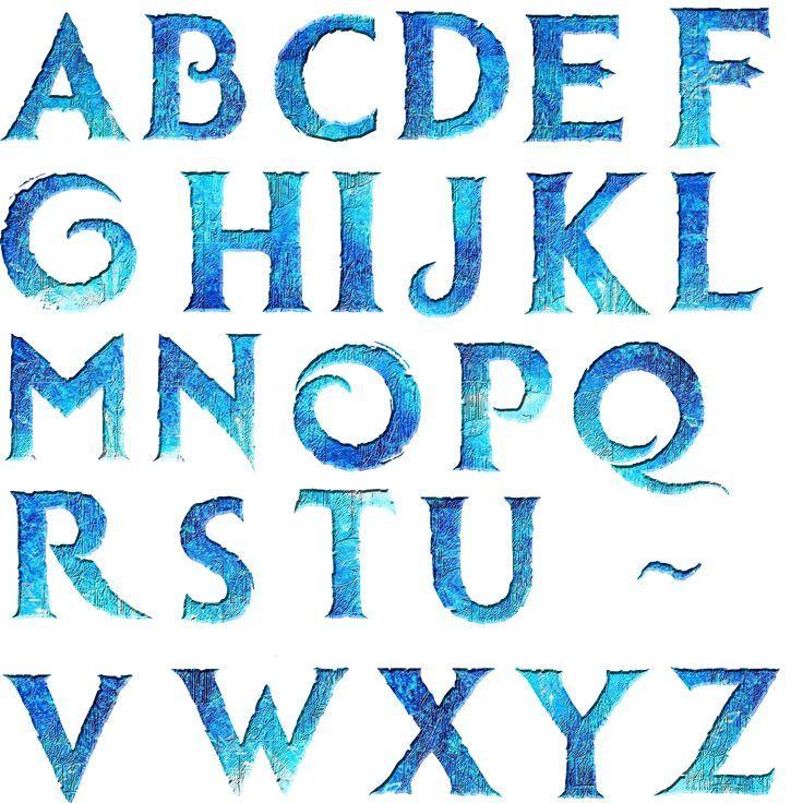 frozen font - Buscar con Google