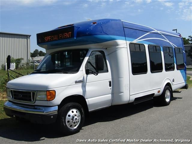 2007 Ford E450 Super Duty Startrans Passenger Shuttle Bus Wheelchair Accessable DRW $11,995 - Visit us at www.davisautosales.com or www.davis4x4.com for more information and vehicles for sale!