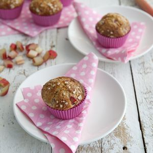 Rhubarb muffins! Rhubarb, rhubarb, rhubarb!