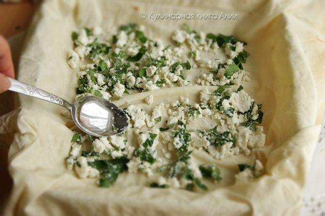 Кулинарная книга Алии: 662. Börek с сыром и с фаршем (турецкая кухня)
