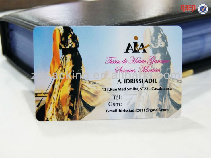 33 best business card images on pinterest business cards visit fashion brand custom cmyk color printing brand vip use plastic card making view plastic card reheart Choice Image