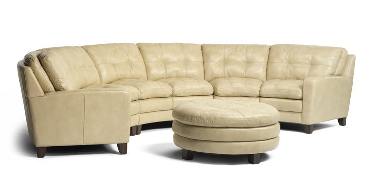 Gorgeous cream leather conversation sofa wwwawfurniture for Sofa by design lake oswego