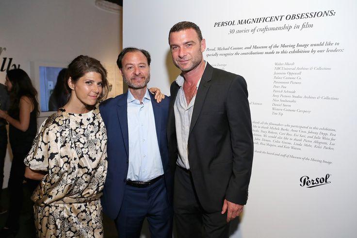 Marisa Tomei, Fisher Stevens & Liev Schreiber