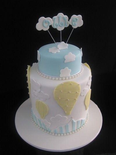 hot air balloon baby shower cake | Pin Jessicakes Hot Air Balloon Cake Up And Away Cake on Pinterest