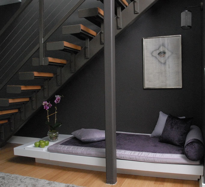 1000 Ideas About Bed Under Stairs On Pinterest Earthy