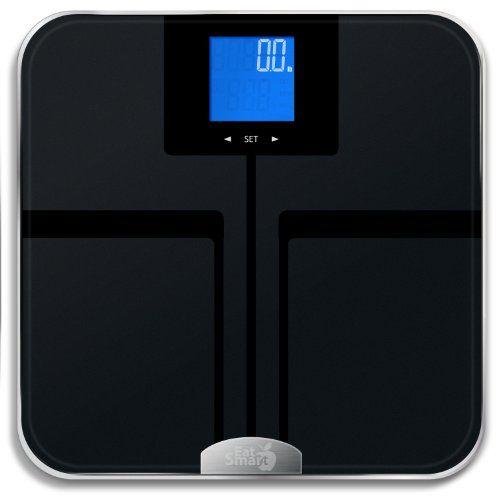 BEST SCALE! EatSmart Precision GetFit Digital Body Fat Scale w/ 400 lb. Capacity & Auto Recognition Technology