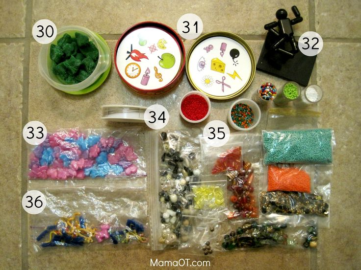 What's in My Therapy Box: 60+ Supplies for School-Based OTs