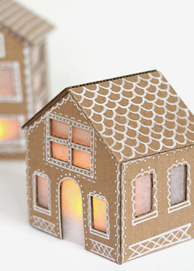 Cardboard Christmas Decorations That Look Expensive | Christmas ...