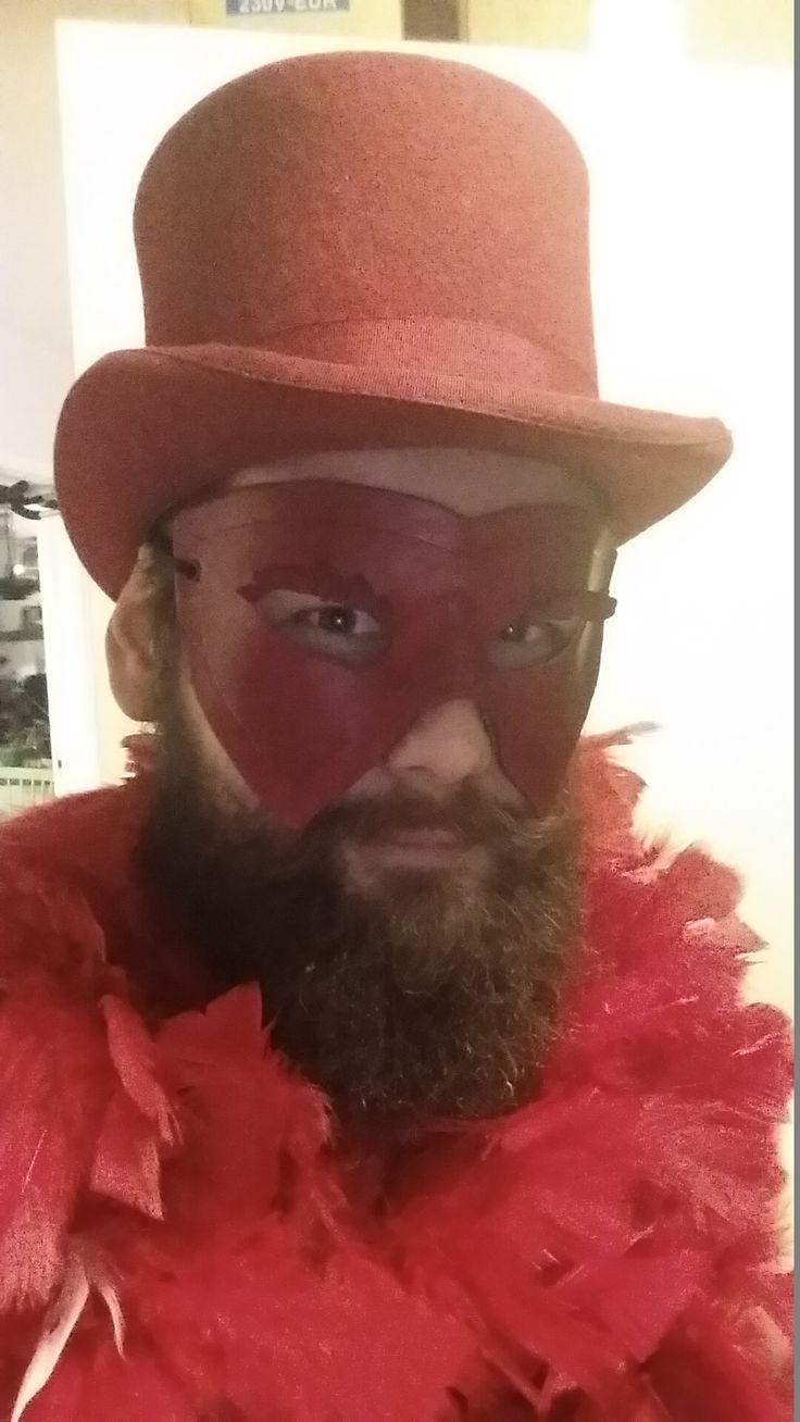 new made mask on myself