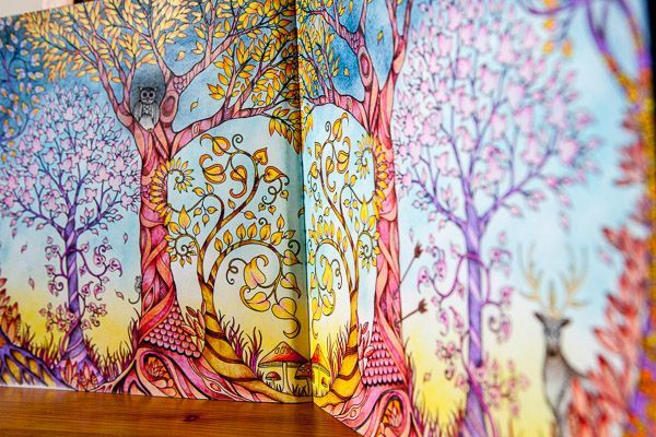 From Enchanted Forest By Johanna Basford Also Includes A