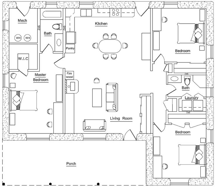 1000 ideas about earth bag homes on pinterest cob for Earthbag house plans free