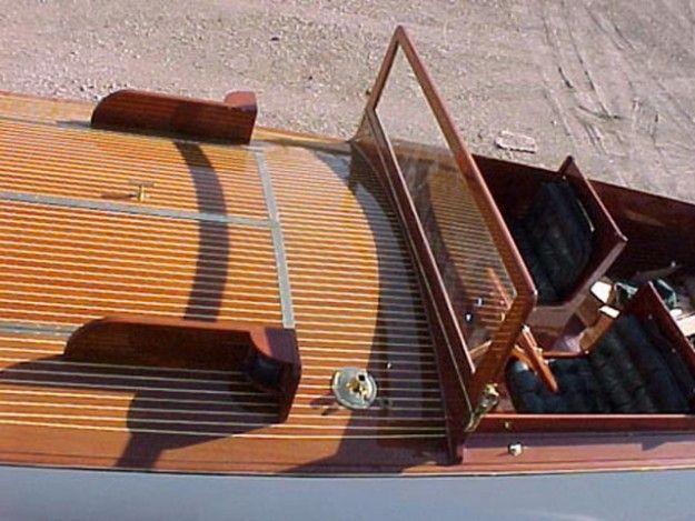1925 Fay & Bowen 27' Long Deck Launch - Classic Wooden Boats for Sale | Vintage Chris Craft | Antique Boats
