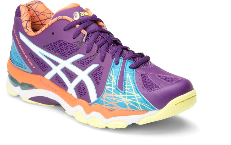 Pawley Sports Pty Ltd - ASICS Gel-Netburner Super 5 Netball Shoes Coral Purple/White/Pacific Blue, $185.00 (http://www.mikepawleys.com.au/asics-gel-netburner-super-5-netball-shoes-coral-purple-white-pacific-blue/)