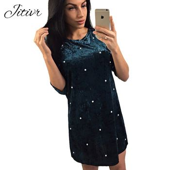 Dresses For Woman Elegant Female Dress Casual Beading Party Short Princess Beach Summer Women S Clothing Bester Sel